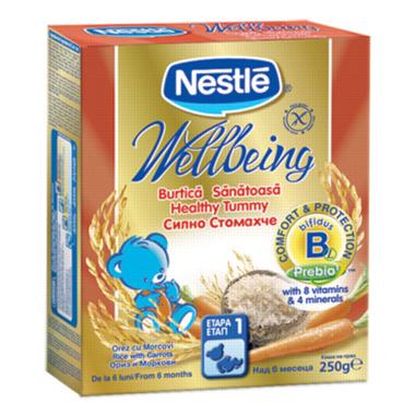 Cereale Nestle Burtica Sanatoasa 250 g de la NESTLE