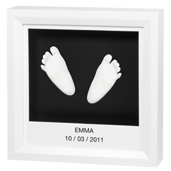 Rama Window Sculpture Frame White de la Baby Art