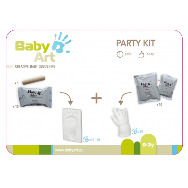 Mulaj Party Kit de la Baby Art