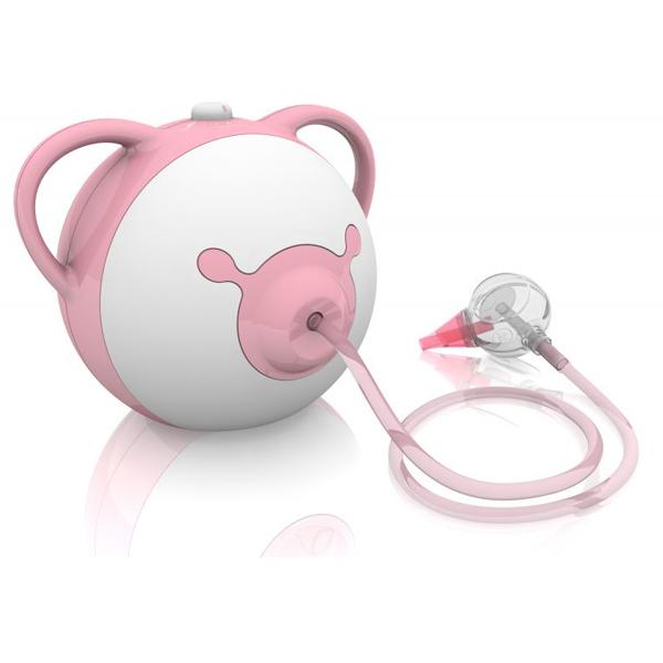 Aspirator nazal electric pink de la Nosiboo
