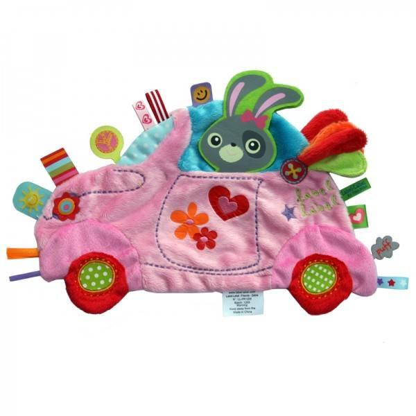 Minipaturica de somn si joaca Holiday Girls Car de la LABEL LABEL