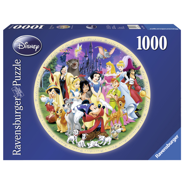 Puzzle Minunata Lume Disney, 1000 piese de la Ravensburger