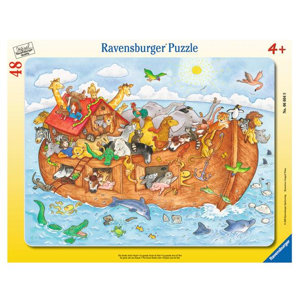 Puzzle Arca Lui NOE, 48 piese de la Ravensburger