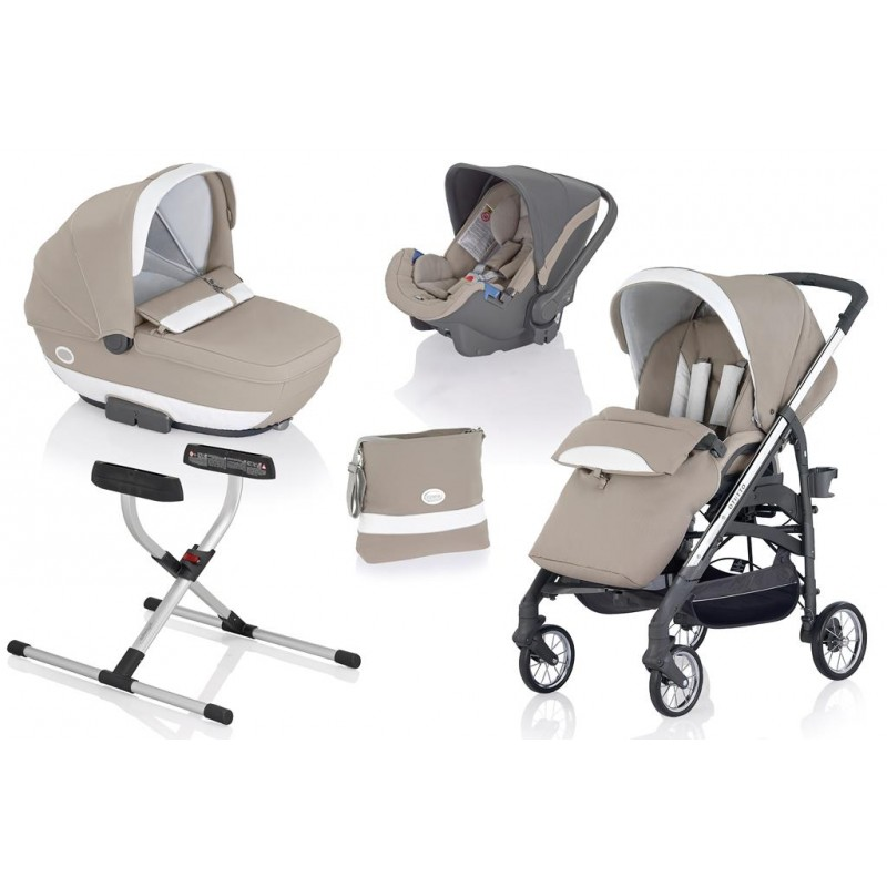 Carucior OTUTTO DELUX - 2015/2016 (sasiu, landou, scaun sport, scaun auto, stand pt landou)