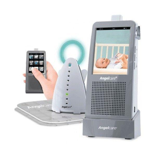Videofon si monitor de respiratie AC1100+CADOU de la AngelCare