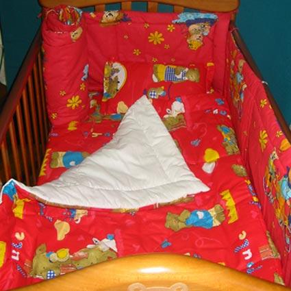 Garnitura completa pentru pat copii