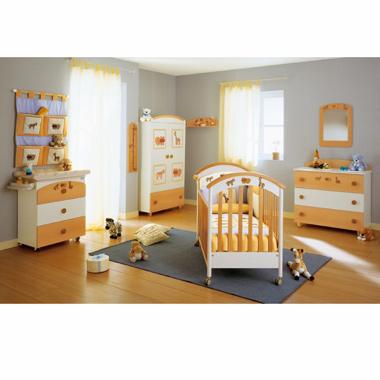 Camera pentru copii Mirelle Nature-Bianco
