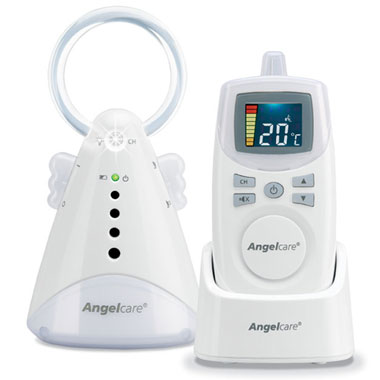 Interfon digital cu termometru de camera Angelcare AC 420