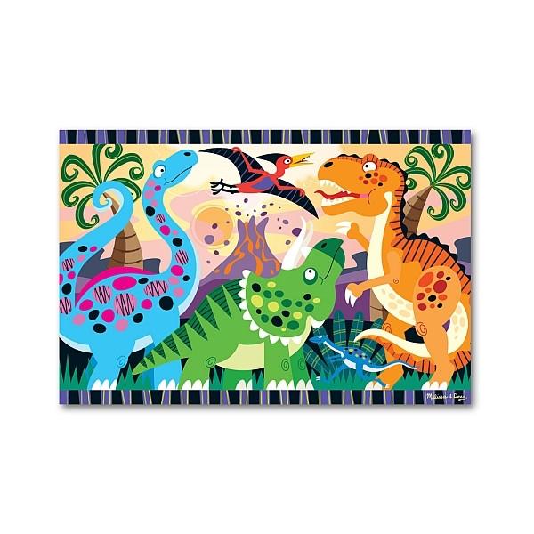 Puzzle de podea Inceputurile dinozaurilor