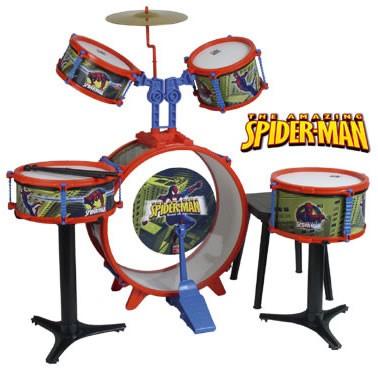 Set tobe Spiderman, baterie