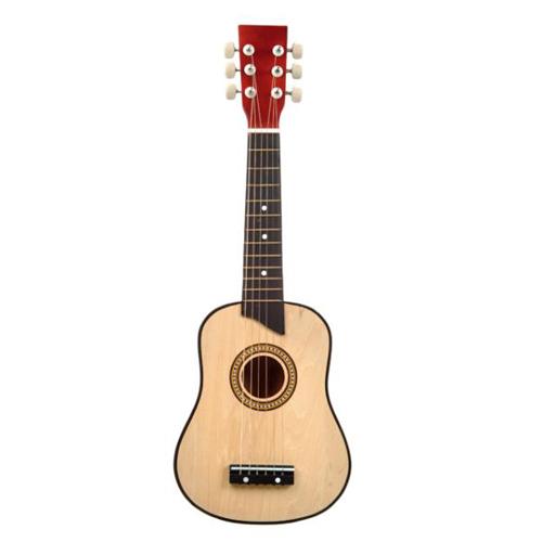 Chitara lemn NATUR 62 cm