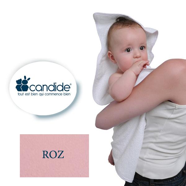 Prosopel baie dimensiuni sporite (XXL) Candide ROZ