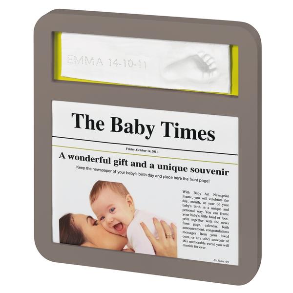 Newsprint taupe azure/sun