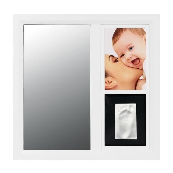 Rama cu oglinda pentru mulaj si fotografie Black