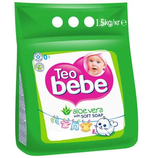 Detergent pentru copii compact  cu Aloe Vera 1.5 Kg