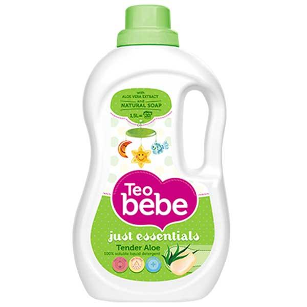 Detergent lichid  pentru copii 1.5 l - Aloe