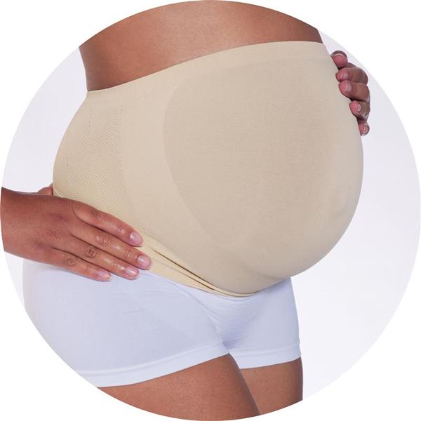 Essentials by Cantaloop - Centura suport pentru perioda prenatala Crem