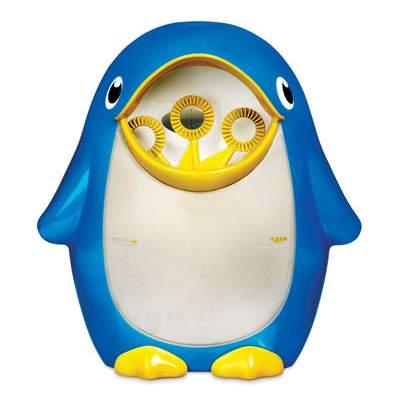 Aparat de facut baloane Pinguin Bubble Blower Fun