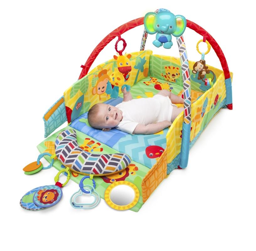 Salteluta de joaca 5 in 1 Sunny Safari Baby's Play Place