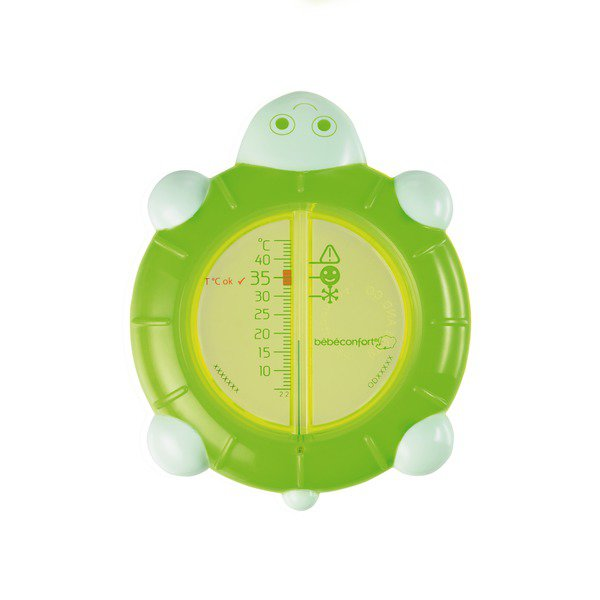 Termometru de baie broscuta verde