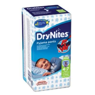 Chilot absorbant noapte pentru baieti DryNites, 4-7 ani, 10 bucati