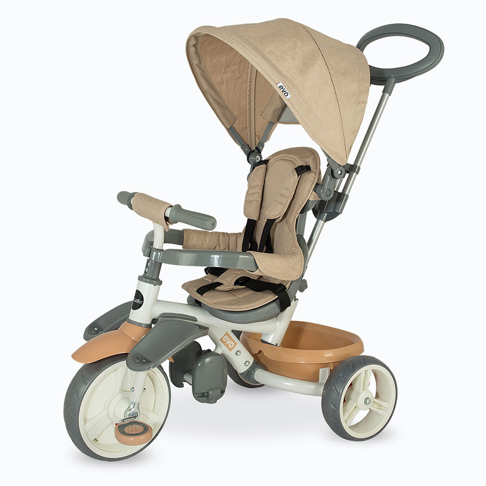 Tricicleta multifunctionala Coccolle Evo BEJ