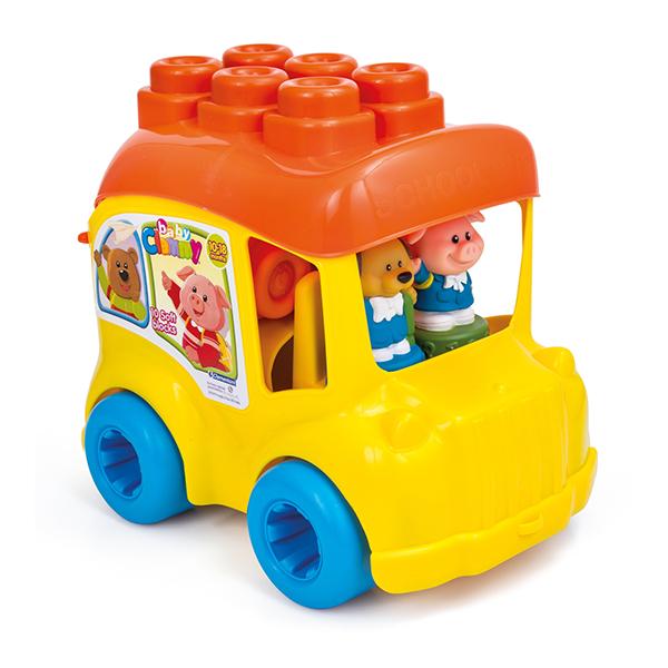 Autobuzul scolar cu cele 12 cuburi este gata de actiune.
