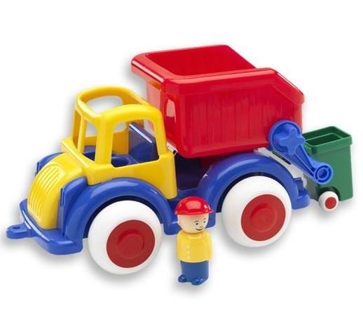 Camion Gunoi cu 2 figurine - Jumbo