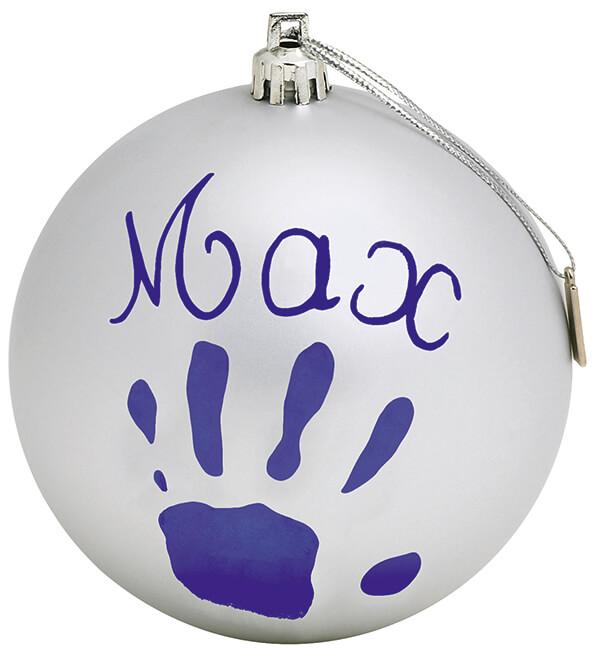 Christmas Ball Silver