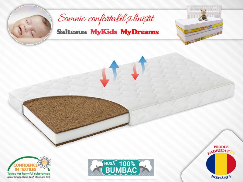 Saltea Fibra Cocos MyKids MyDreams II 120x60x8 (cm)