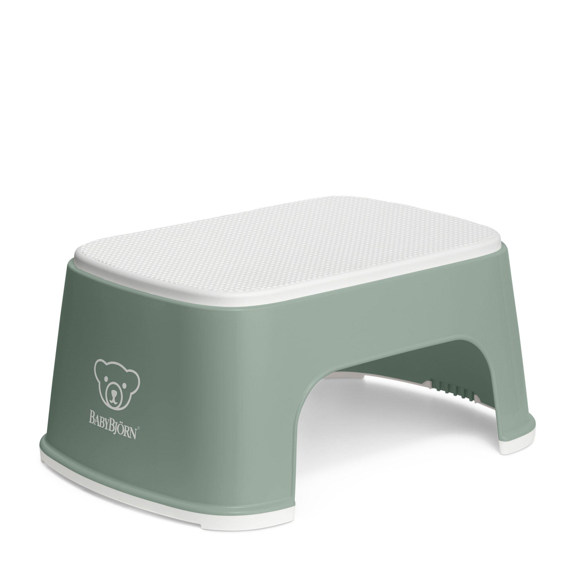 Treapta inaltator pentru baie – Step Stool – Deep Green / White
