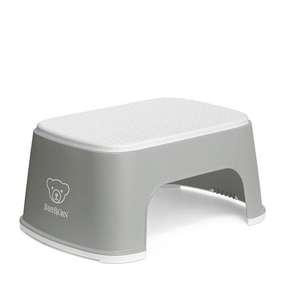 Treapta inaltator pentru baie – Step Stool – Grey / White